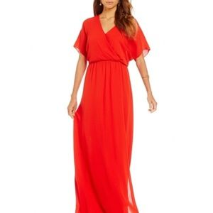 Gianni Bini Red Maxi Dress